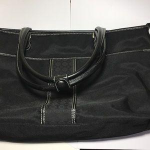 Nine West Extra Large Weekender Tote Bag 👀💕